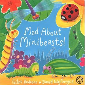 Bog, papbog Mad About Minibeasts! af Giles Andreae
