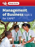 Management of Business Cape Unit 1 CXC Study Guide af Robert Dransfield