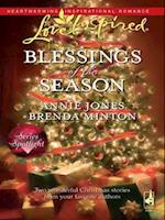 Blessings of the Season: The Holiday Husband / The Christmas Letter (Mills & Boon Love Inspired) af Brenda Minton