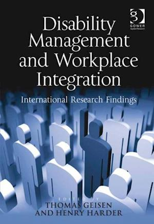 Disability Management and Workplace Integration af Thomas Geisen