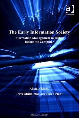 Early Information Society af Alistair Black