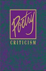 Poetry Criticism (POETRY CRITICISM, nr. 185)