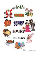 Merry, Scary, Hairy Holidays af Tina Johnson