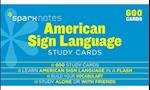 Sparknotes American Sign Language Study Cards (Sparknotes)