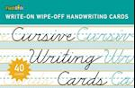 Cursive Writing Cards (Write on Wipe off Handwriting Cards)