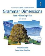 Grammar Dimensions 1 af Diane Larsen Freeman, Victoria Badalamenti