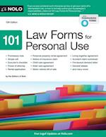 101 Law Forms for Personal Use (101 LAW FORMS FOR PERSONAL USE)