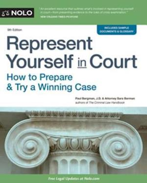Represent Yourself in Court af Paul Bergman, Sara J. Berman