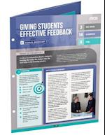 Giving Students Effective Feedback (Quick Reference Guide 25-Pack)