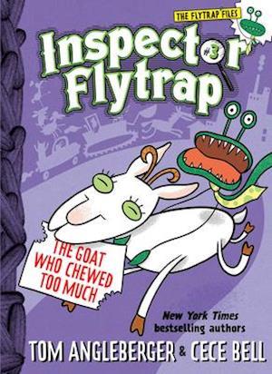 Bog, hardback Inspector Flytrap in the Goat Who Chewed Too Much af Tom Angleberger