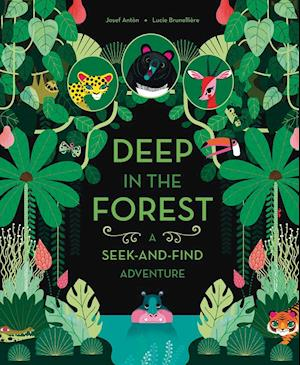 Bog, hardback Deep in the Forest af Josef Anton