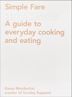 Bog, paperback Simple Fare af Karen Mordechai
