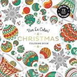 Vive Le Color! Christmas: Adult Coloring Book