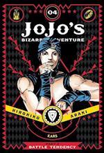 Jojo's Bizarre Adventure: Part 2--Battle Tendency, Vol. 4 (Jojo's Bizarre Adventure, nr. 4)
