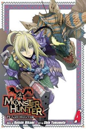Monster Hunter Flash Hunter 4 af Keiichi Hikami