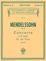 Concertos for the Piano af Felix Mendelssohn