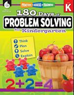 180 Days of Problem Solving for Kindergarten (Grade K) (180 Days of Practice)