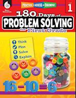 180 Days of Problem Solving for First Grade (Grade 1) (180 Days of Practice)