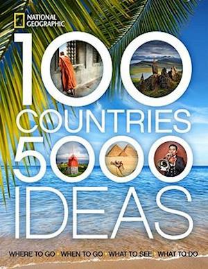 100 Countries, 5000 Ideas af National Geographic Society, National Geographic