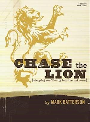 Bog, paperback Chase the Lion Study Book af Mark Batterson