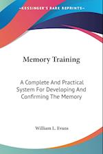 Memory Training af William L. Evans