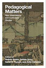 Pedagogical Matters (Counterpoints, nr. 501)