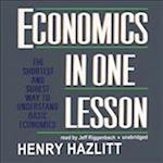 Economics in One Lesson af Henry Hazlitt