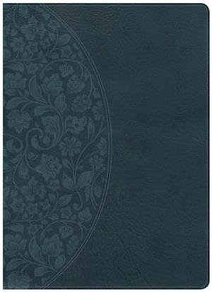 Ukendt format KJV Study Bible Large Print Edition, Dark Teal Leathertouch, Indexed
