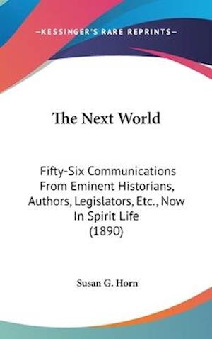 The Next World af Susan G. Horn