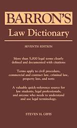 Barron's Law Dictionary (Barron's Legal Guides)