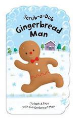 Scrub-a-Dub Gingerbread Man (Scrub a dub Bath Mitt and Bath Book Sets)