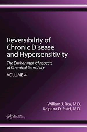 Bog, hardback Reversibility of Chronic Disease and Hypersensitivity af William J. Rea