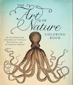 The Art of Nature Adult Coloring Book af Adams Media