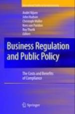 Business Regulation and Public Policy af Andre Nijsen, Christoph Muller, R Thurik