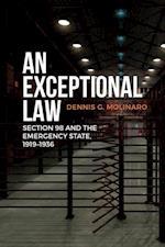 An Exceptional Law af Dennis G. Molinaro