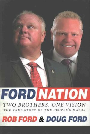 Bog, hardback Ford Nation af Rob Ford