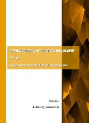 Bog, paperback Review Journal of Political Philosophy Vol. 12