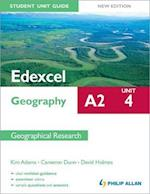 Edexcel A2 Geography Student Unit Guide New Edition: Unit 4 Contemporary Geographical Issues af Cameron Dunn, Kim Adams, David Holmes