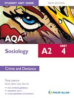 AQA A2 Sociology Student Unit Guide New Edition: Unit 4 Crime and Deviance af Tony Lawson