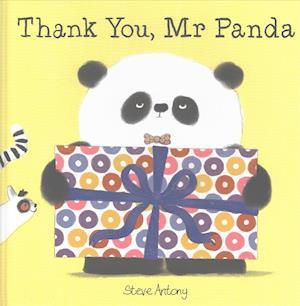 Bog, hardback Thank You, Mr Panda af Steve Antony