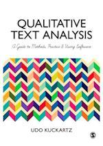 Qualitative Text Analysis af Udo Kuckartz