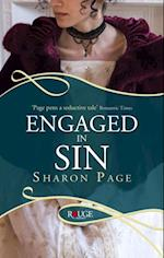 Engaged in Sin: A Rouge Regency Romance af Sharon Page