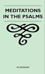 Meditations in the Psalms af W. Johnson