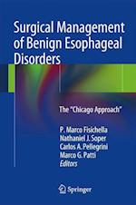 Surgical Management of Benign Esophageal Disorders af P. Marco Fisichella