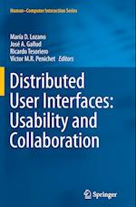 Distributed User Interfaces: Usability and Collaboration (Human-Computer Interaction Series)
