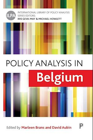Bog, hardback Policy Analysis in Belgium