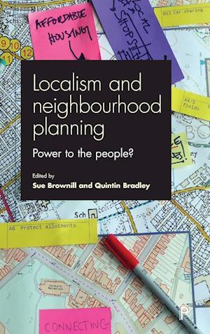 Bog, hardback Localism and Neighbourhood Planning af Sue Brownill