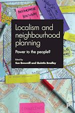 Localism and Neighbourhood Planning af Sue Brownill