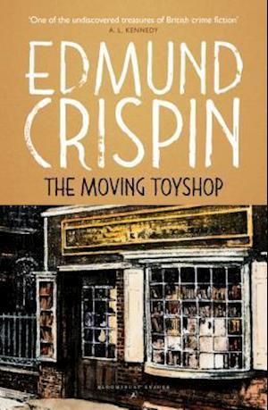 Bog, paperback The Moving Toyshop af Edmund Crispin