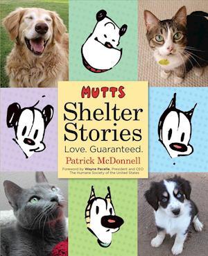 Bog, paperback Mutts Shelter Stories af Patrick McDonnell